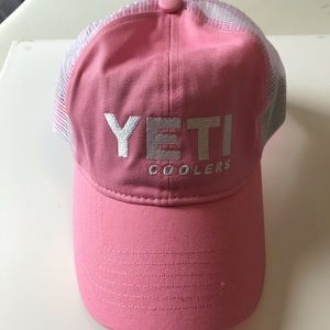 Yeti Coolers Pink Trucker Hat